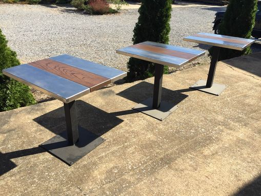 Custom Made Modern Industrial Stainless Table/S