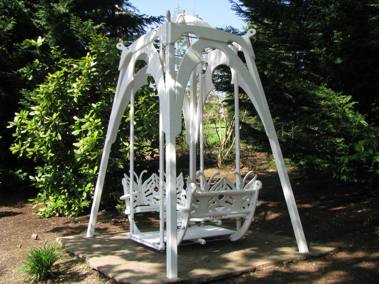 Custom The Ultimate Garden Glider Swing By Thomas Marine Interiors