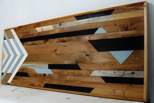 Custom Made Reclaimed Cedar Wall Panel 24