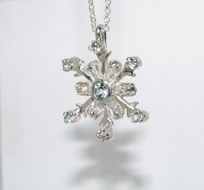 Custom Made Snowflake Pendant