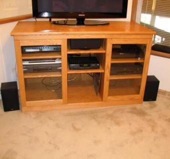 Custom Made Entertainment Center/Tv Stand