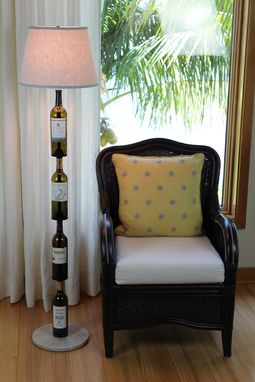 Custom Made Wine Bottle Floor Lamp - Customer Bottles