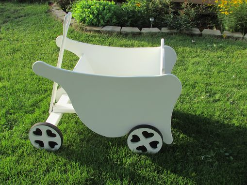 Custom Made Flower Girl Wagon