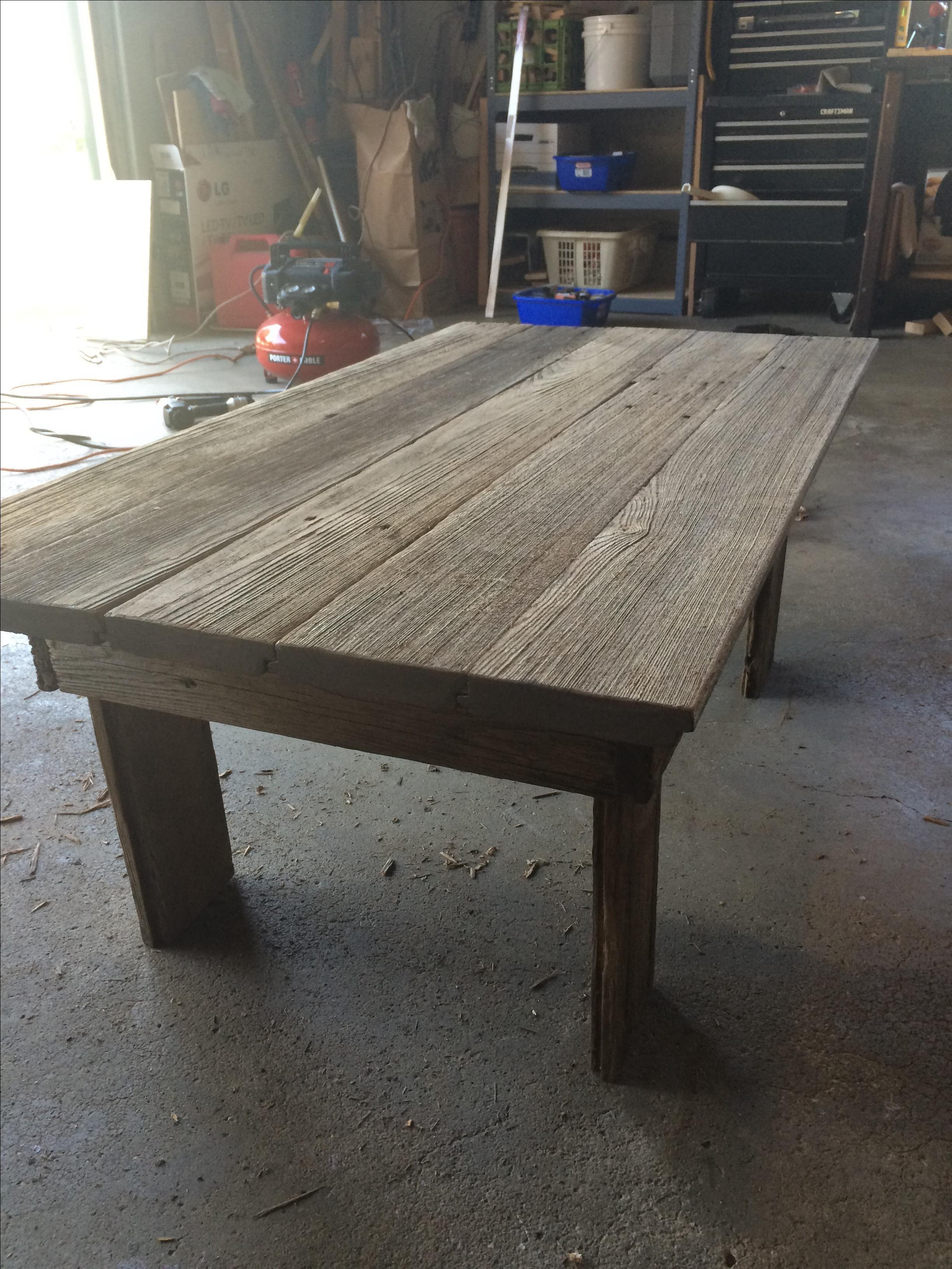 Farmhouse Living Room Furniture Coffee Tables