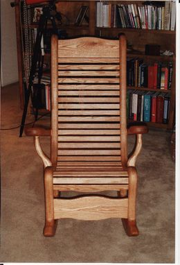 Custom Made Oak Rocker