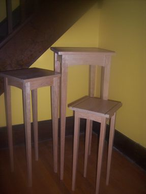 Custom Made Cherry Pedestals