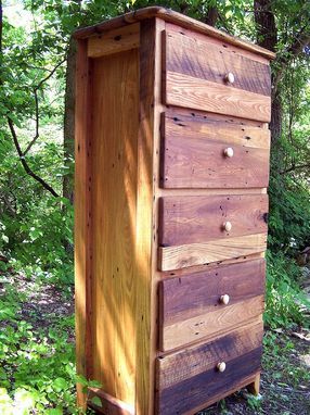 Buy A Hand Crafted Tall Dresser From Antique Barnwood And