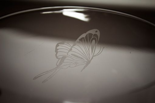 Custom Made Custom Etched Glassware With Text And Or Artwork
