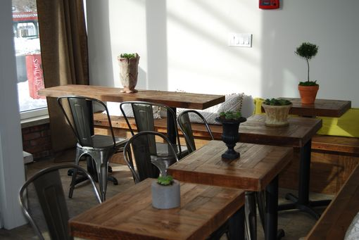 Custom Made Cafe Tables