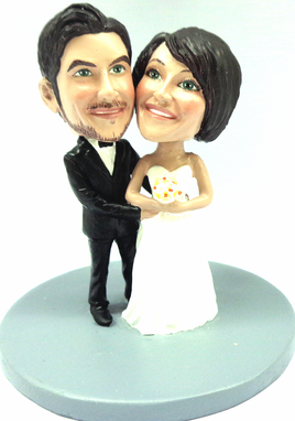 Custom Made Custom Snow Globe Made To Look Like Your Photo - Hand Sculpted