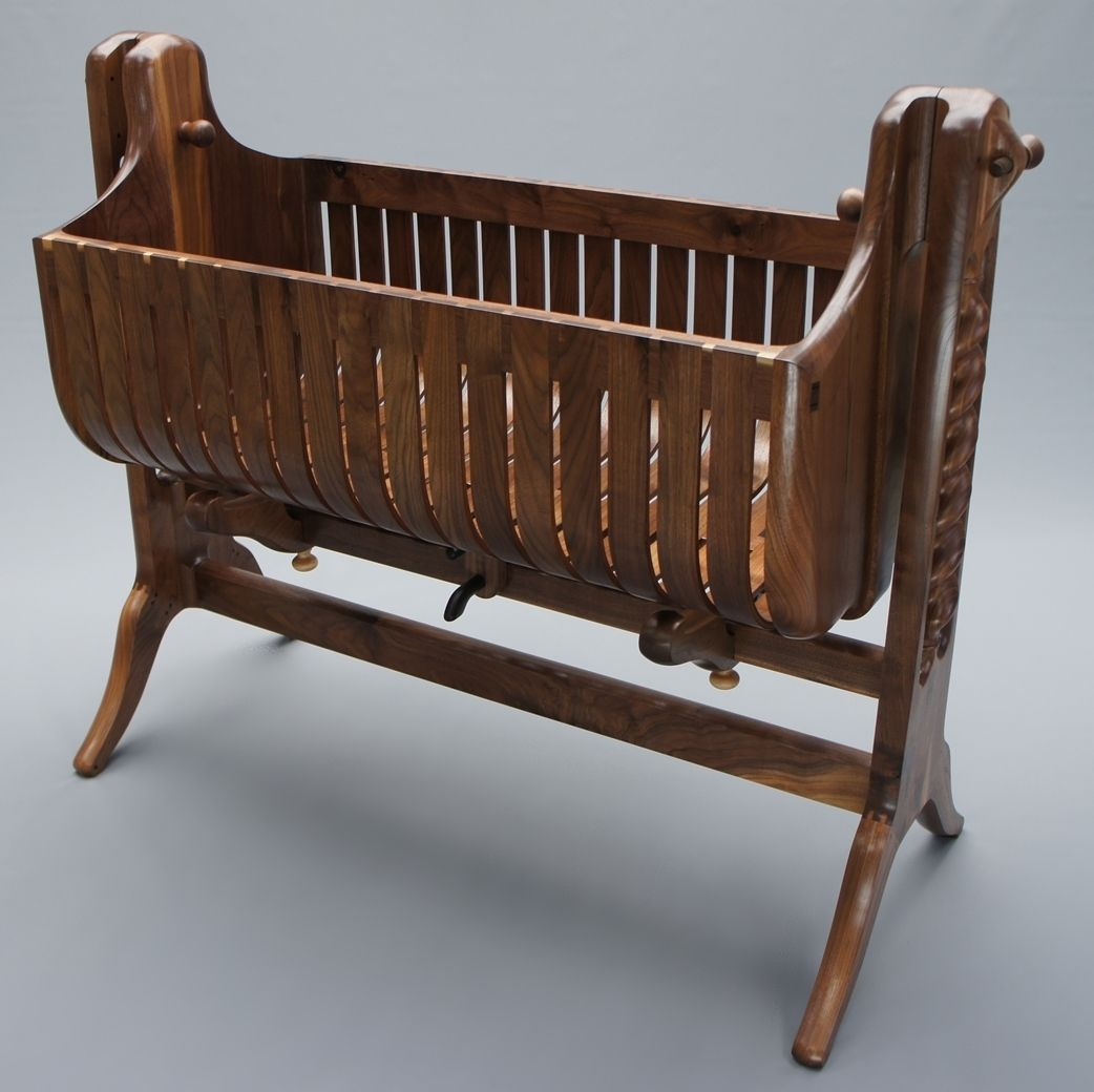 Buy A Custom The Lamerton Bassinet Crib Made To Order