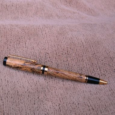 Custom Made Pen Made Of Ambrosia Maple  Cl003