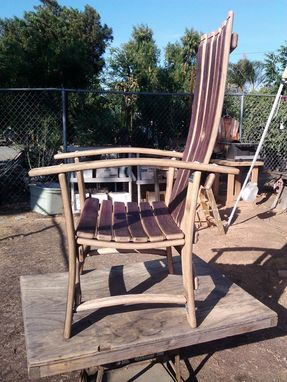 Custom Made Wine Barrel Creations, Rockers And Chairs.