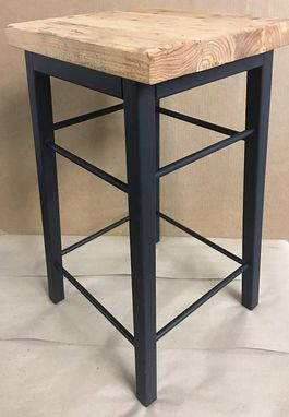Custom Made Industrial Bar Stool