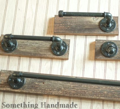 Custom Made Barn Wood Bathroom Set Rustic100 Year Old Reclaimed Wood