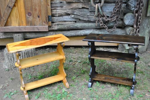 Custom Made Plymouth Plantation Table/Chair