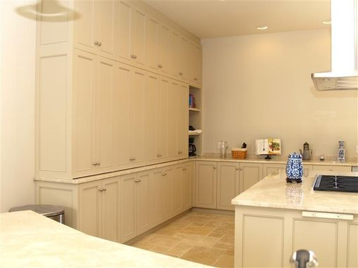 Custom Made Custom Mahogany Kitchen Cabinets