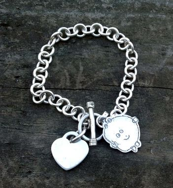 Custom Made Memories Charm In Sterling Silver