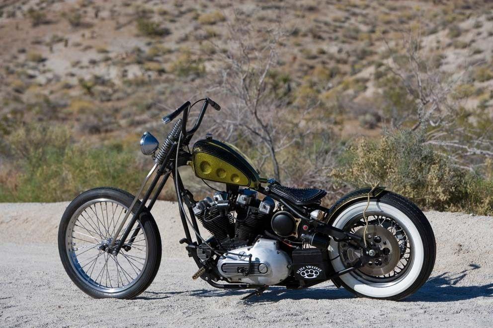 Custom Made 1981 Harley Davidson Ironhead Rigid