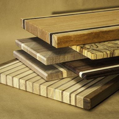 Custom Made Exotic & Domestic Master Crafted Cutting Boards