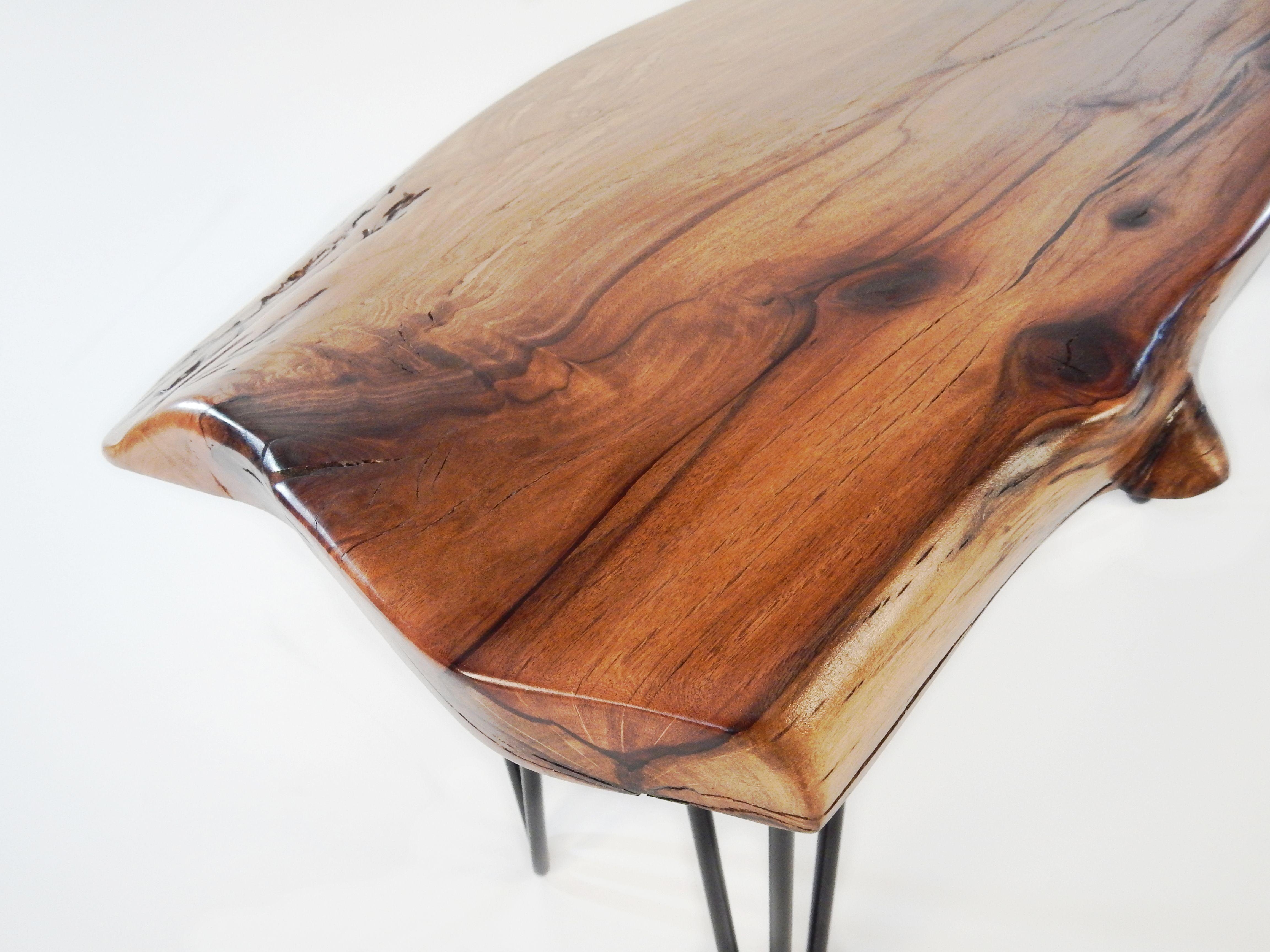 Hand Made Live Edge Australian Beefwood Coffee Table by Vantz Furniture  CustomMade.com