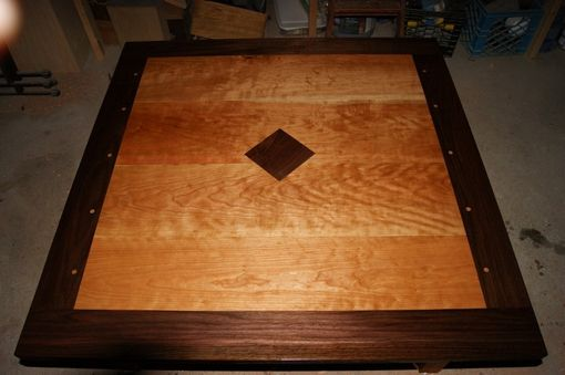 Custom Made Inlay Coffee Table