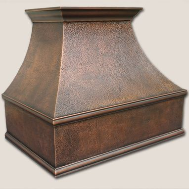 Custom Made Traditional Copper Range Hood 30