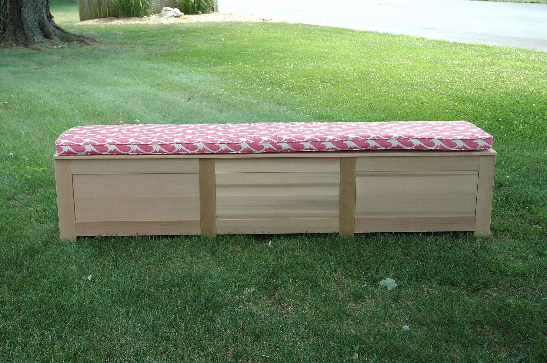 Cool Handmade Cedar Storage Bench By Wooden It Be Nice Camellatalisay Diy Chair Ideas Camellatalisaycom