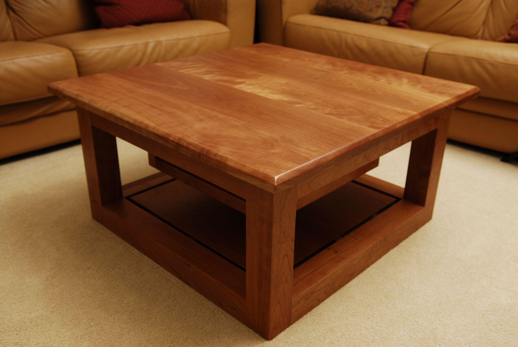 Cherry Coffee Table.Handmade Cherry Coffee Table By Schmitt Custom Furniture
