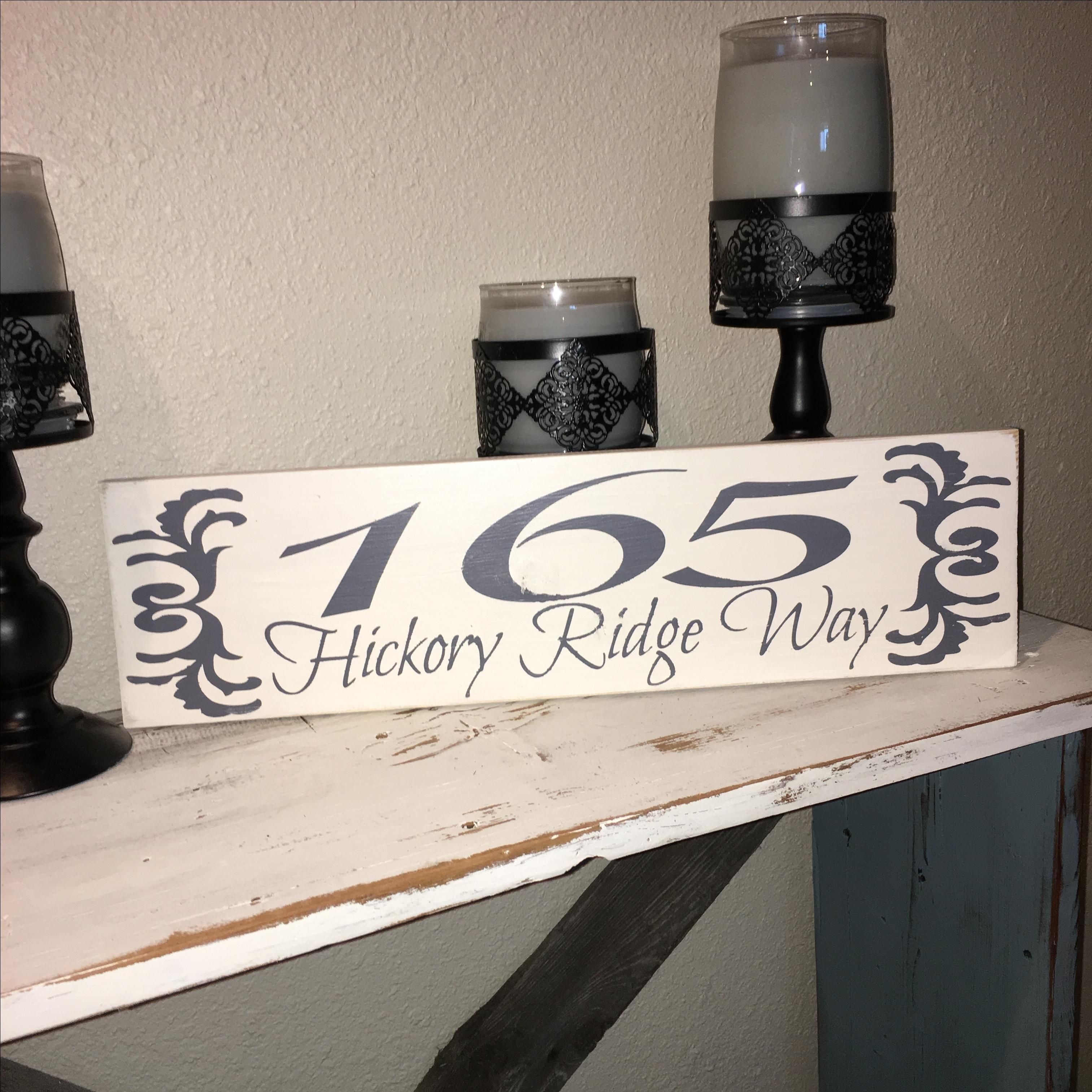 Custom House Numbers and Letters | Custom Address Signs | CustomMade.com