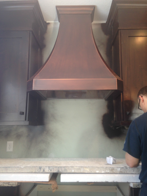 Custom Made Contemporary Range Hood 30""