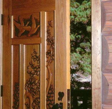 Custom Made Colorado Tryptic - Entry Doors
