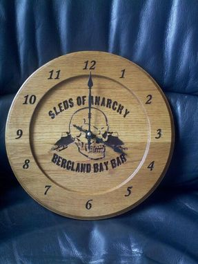 Custom Made Clocks/Weather Stations