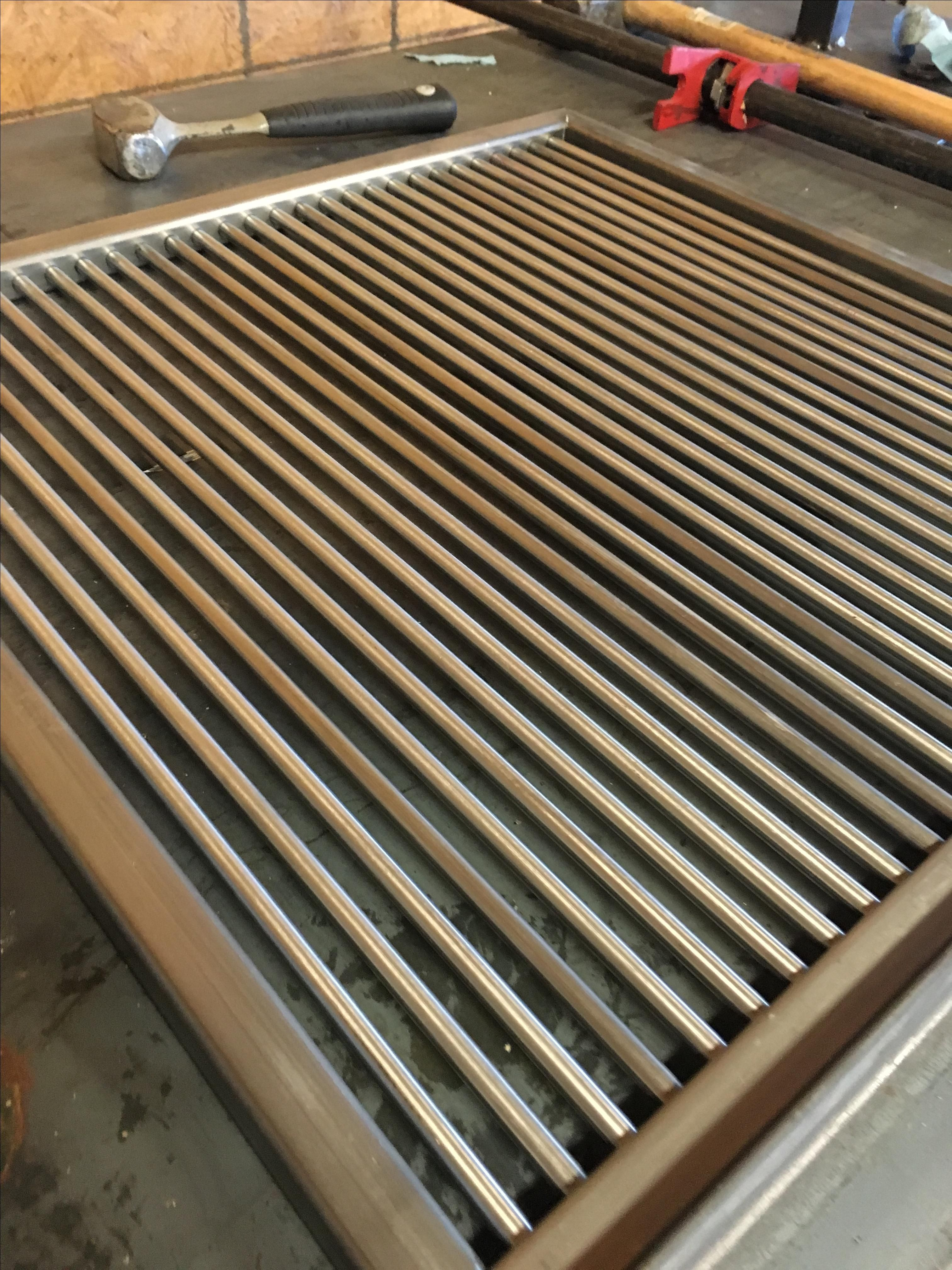 Hand Crafted Grill Grates by Freelance Customs | CustomMade com