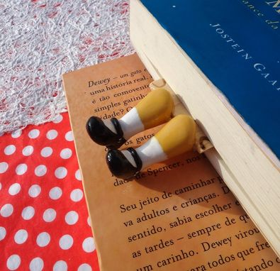 Custom Made Legs In Your Book - Dolly Bookmark