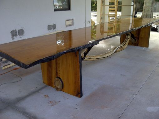 Custom Made Large Live Edge Table