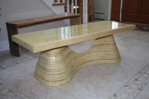 Custom Made Stack Laminated Bench