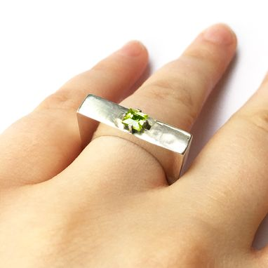 Custom Made Hollow - Handmade Silver Statement Ring