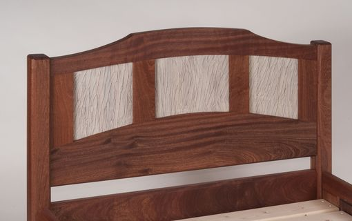 Custom Made Sapele Bed