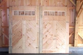 Custom Made Carriage Style Barn Doors