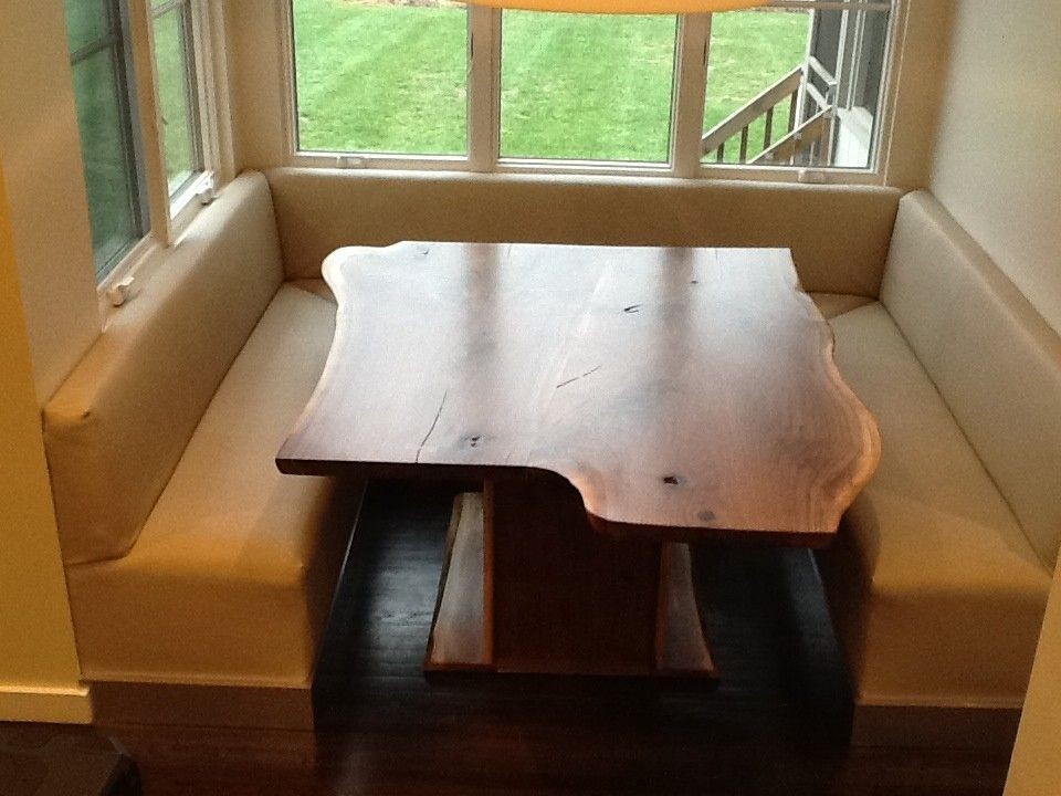 Hand Made Booth Table By Rustic Elegance Custommade Com