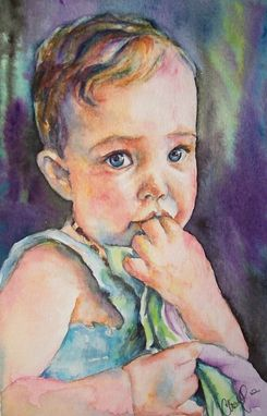 Custom Made Watercolor Portraits