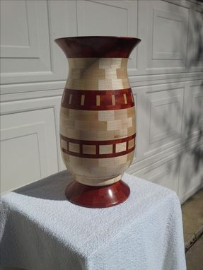 Custom Made Woodturned Vase