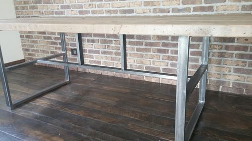 Custom Made Industrial Reclaimed Dining Table, Griffin Table