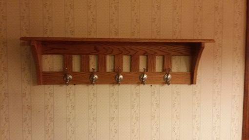 Custom Made Mission Style Coat Rack