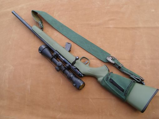 Custom Made Rifle Sling And Ammo Pocket