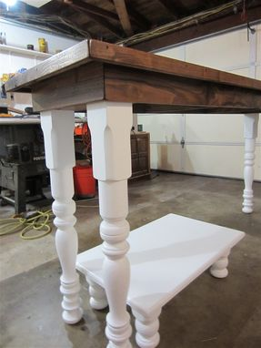 Custom Made Farm House Laundry Folding Table
