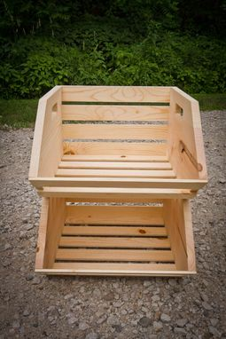 Custom Made Vegetable Crate