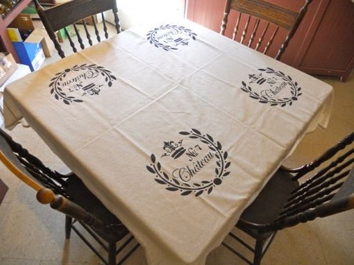 Custom Made Handmade Tablecloth