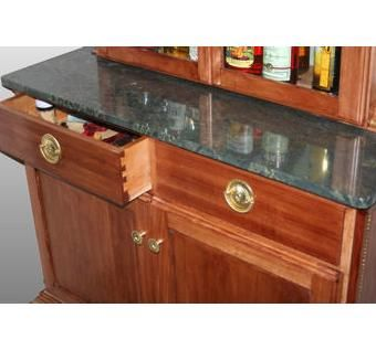 Custom Made Empire Style Liquor Cabinet